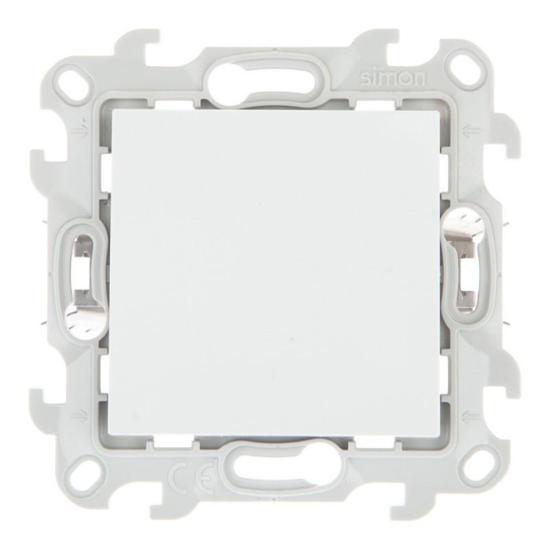 Выключатель Simon 24 Harmonie 2420101-030 одноклавишный скрытая установка белый без заземления