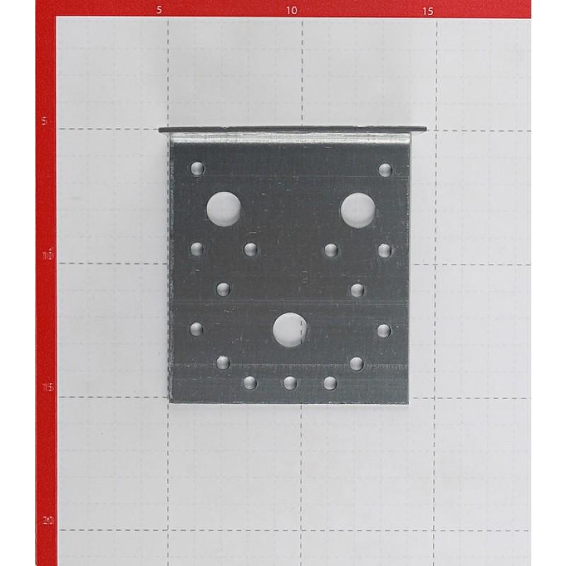 Уголок крепежный оцинкованный 105х105х90х2 мм