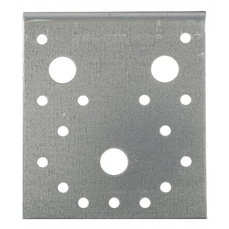 Уголок крепежный оцинкованный 105х105х90х2 мм (фото 2)