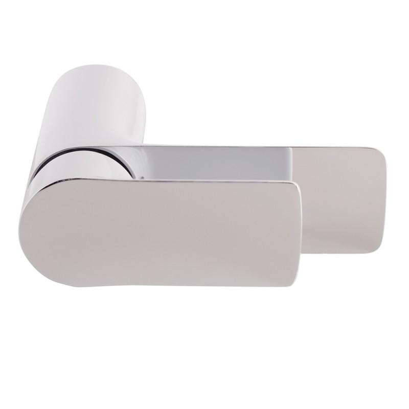 Смеситель для умывальника LAVELLY White Modern однорычажный белый/хром (фото 7)