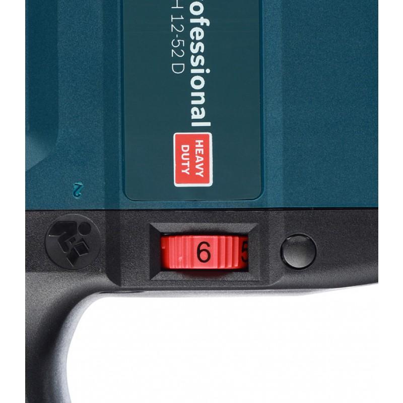 Перфоратор электрический Bosch GBH 12-52 D (0611266100) 1700 Вт 19 Дж SDS-max (фото 7)