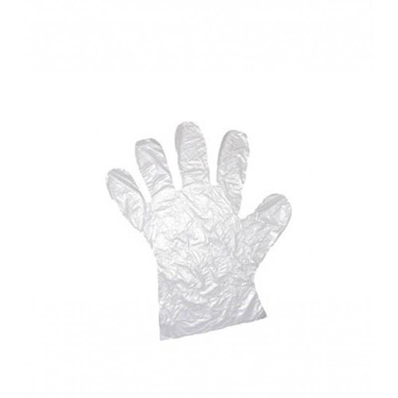 Перчатки полиэтиленовые одноразовые (100 шт)