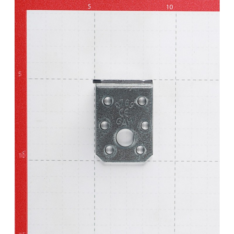 Уголок крепежный оцинкованный 50х50х35х2.5 мм GAH ALBERTS
