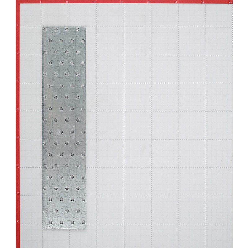 Пластина соединительная оцинкованная 360х80х2.0 мм