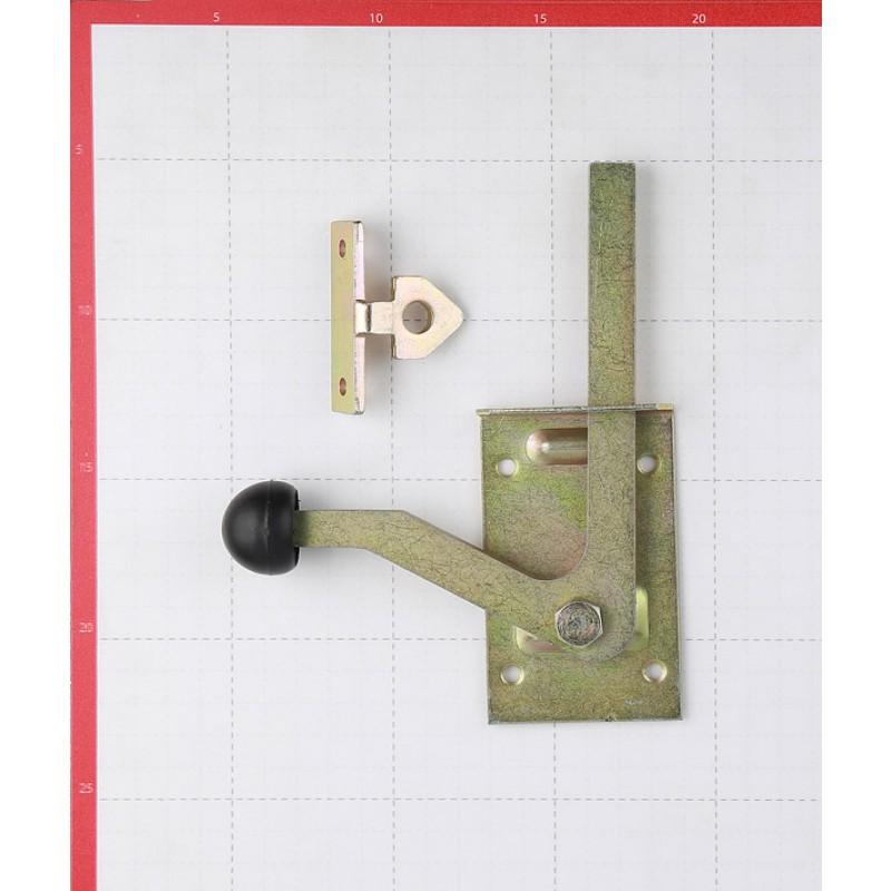 Щеколда GAH ALBERTS поворотная 180 мм оцинкованная