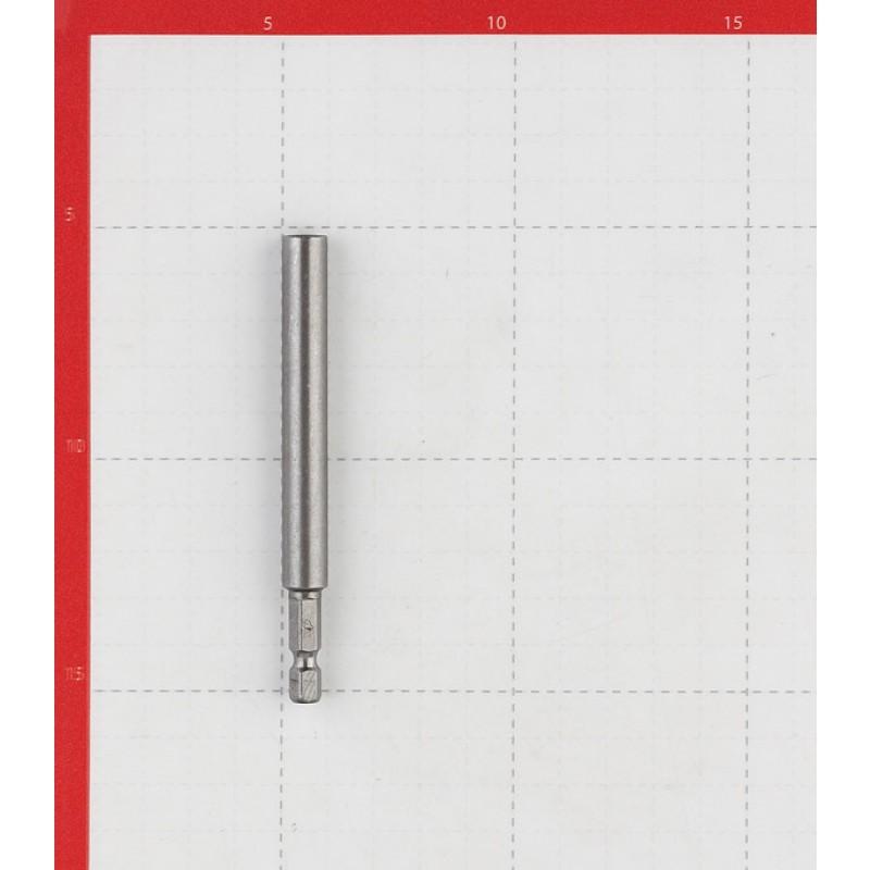 Держатель для бит Практика магнитный цельнотянутый 100 мм (фото 3)