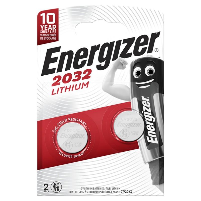 Батарейка Energizer Miniatures Lithium CR2032 3 В (2 шт.)