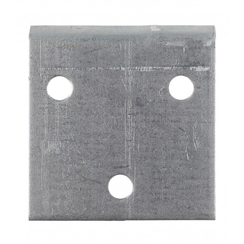 Уголок соединительный оцинкованный 40х40х40х2 мм