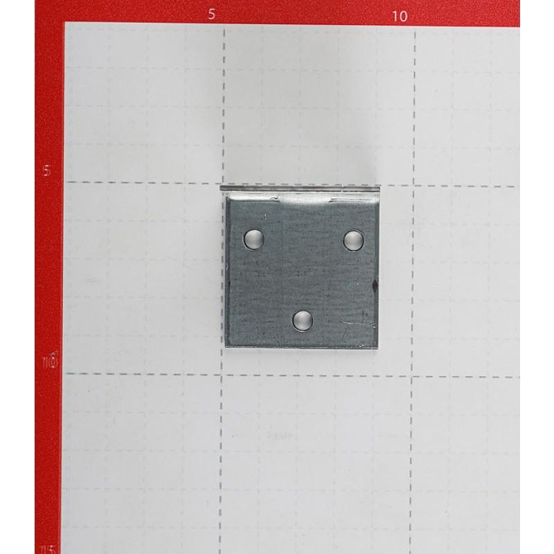 Уголок соединительный оцинкованный 40х40х40х2 мм (фото 2)
