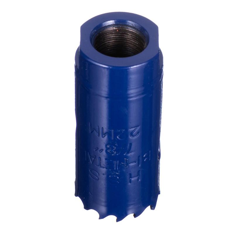 Коронка биметаллическая Практика (035-929) универсальная d22 мм
