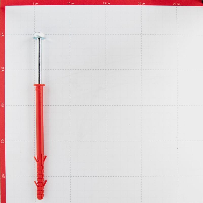 Дюбель фасадный Hard-Fix PT ZN с шурупом шестигранная головка 10x140 мм коррозионностойкий (4 шт.) (фото 2)