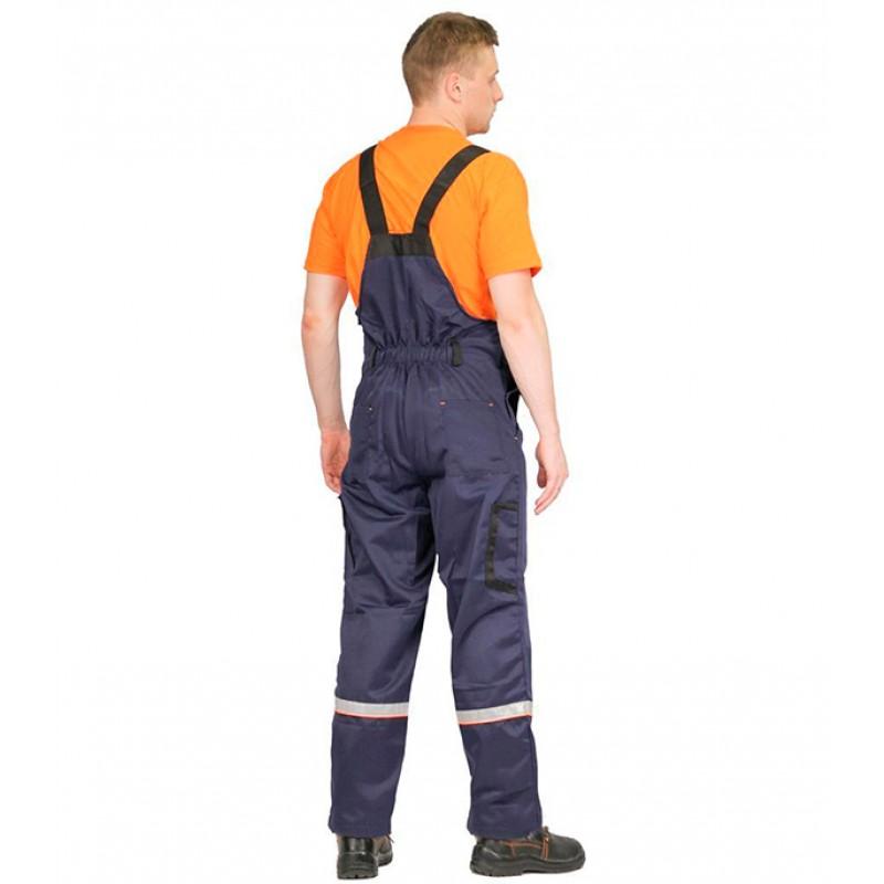 Костюм рабочий Практик 56-58 рост 170-176 см цвет синий/черный