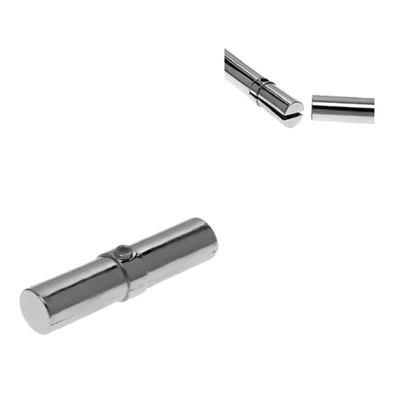 Соединитель внутренний для двух труб к системе Joker d25 мм с кольцом хром