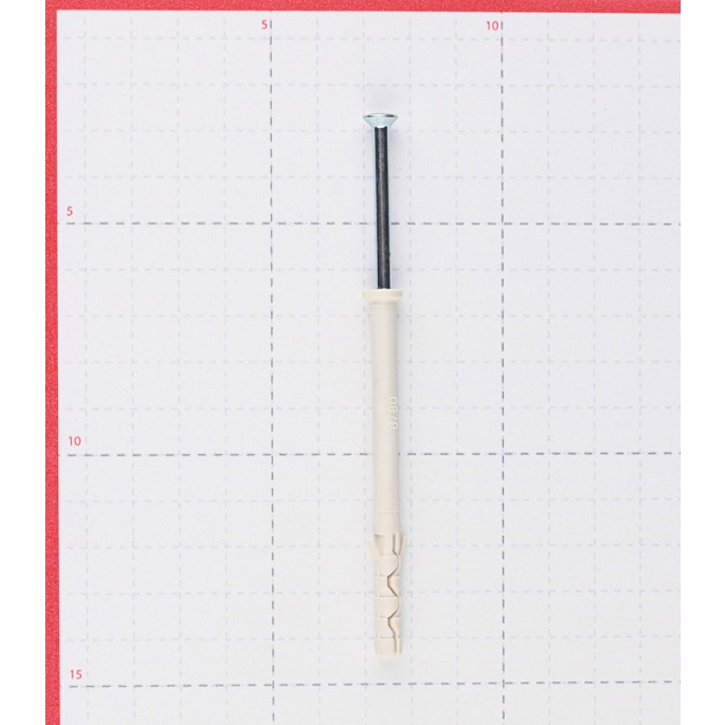 Дюбель-гвоздь Sormat 6x80 мм цилиндрическая манжета нейлон (100 шт.)