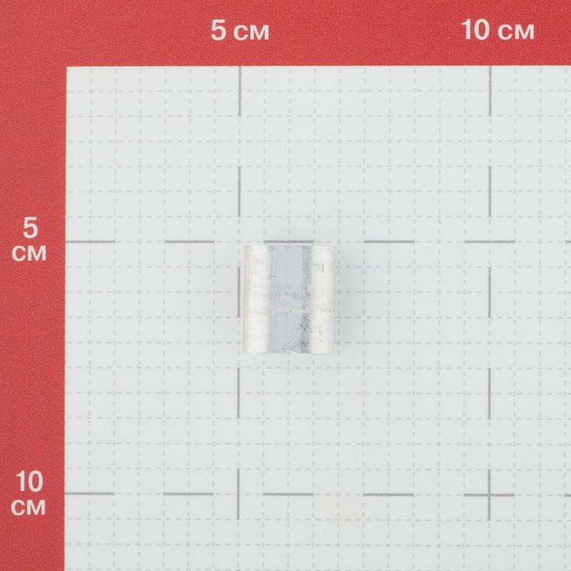 Зажим троса трубчатый d6 мм DIN 9093
