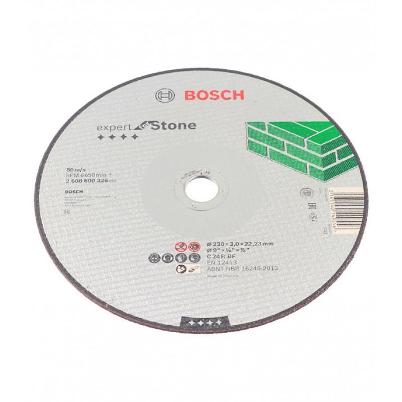 Круг отрезной по камню Bosch (02608600326) 230х22х3 мм (фото 3)