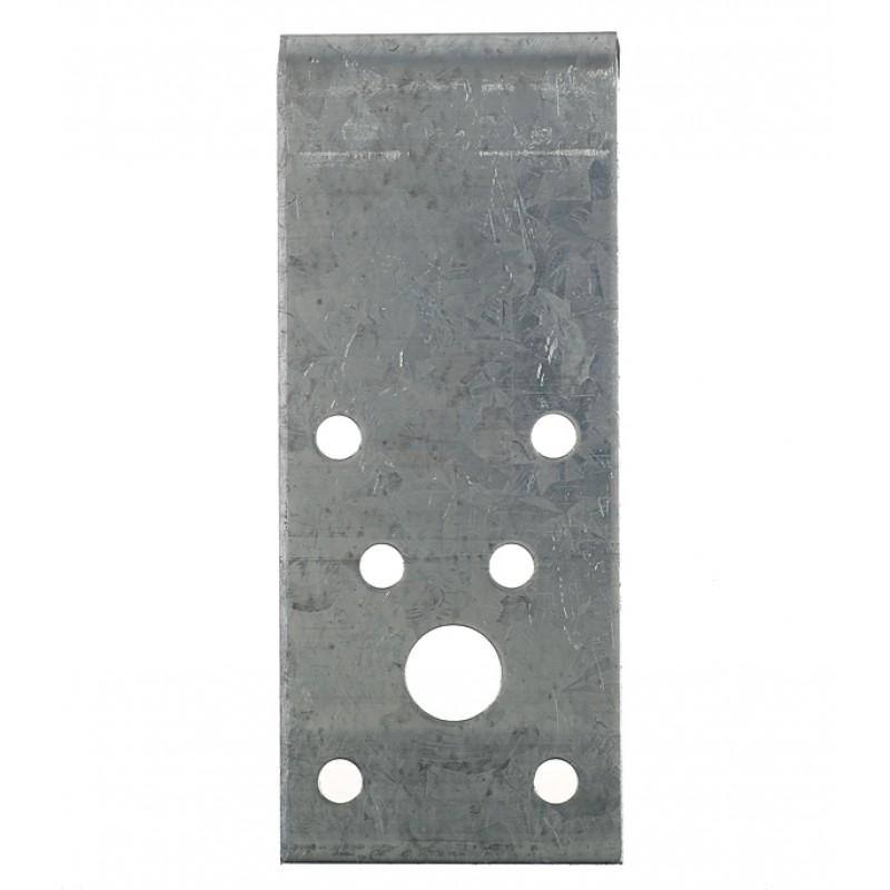 Уголок крепежный оцинкованный 90х90х40х2 мм