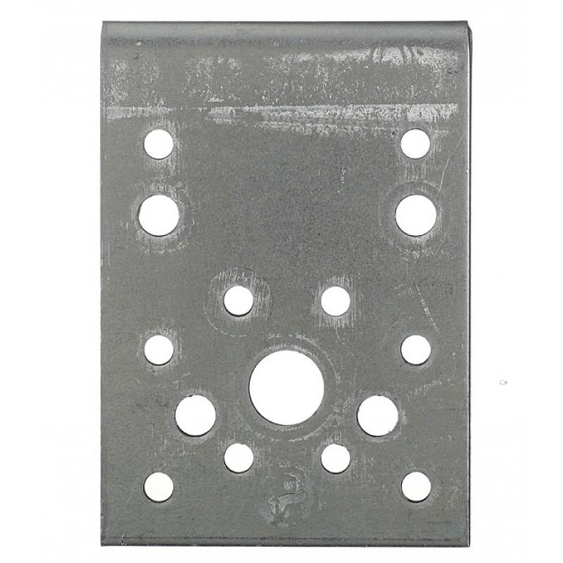 Уголок крепежный оцинкованный 90х90х65х2.5 мм
