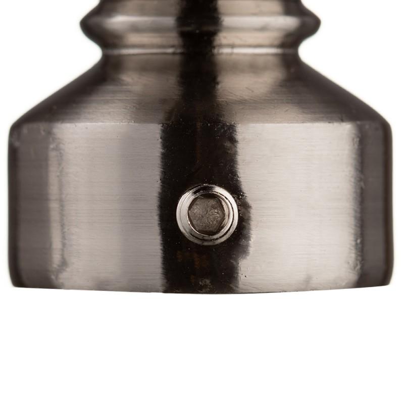 Наконечник Шар d 20 мм серебро 2 шт.