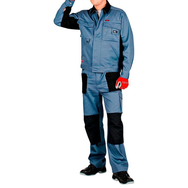 Куртка рабочая Спец-Авангард 44-46 рост 170-176 см цвет серый/черный