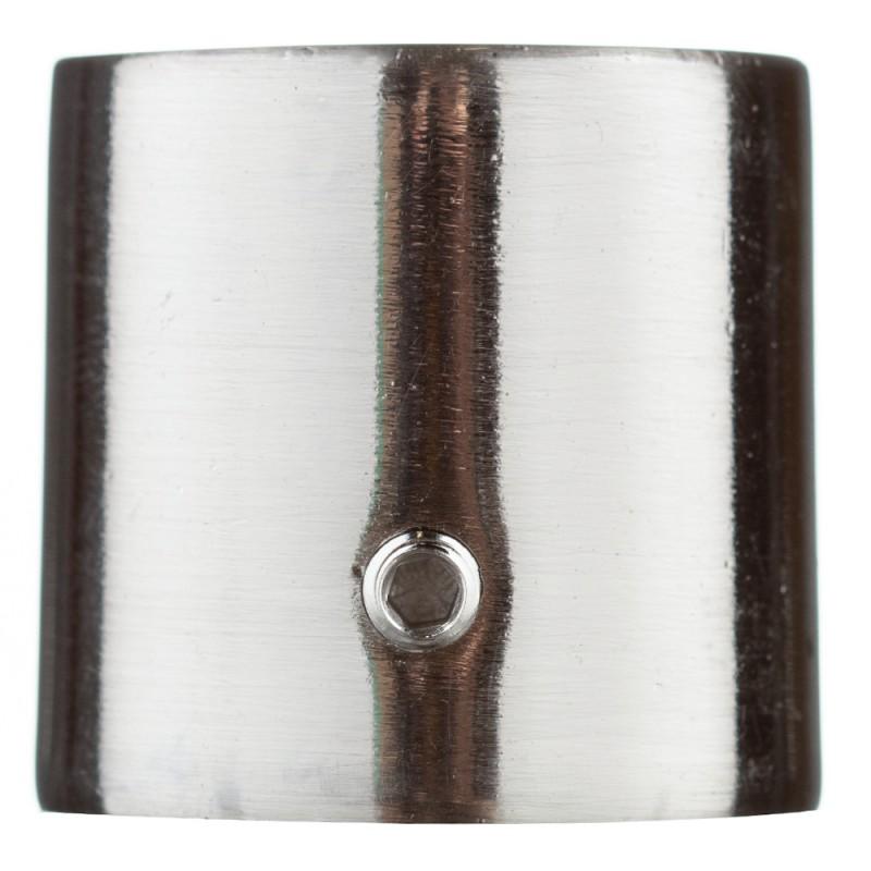 Наконечник Цилиндр d 16 мм серебро 2 шт.
