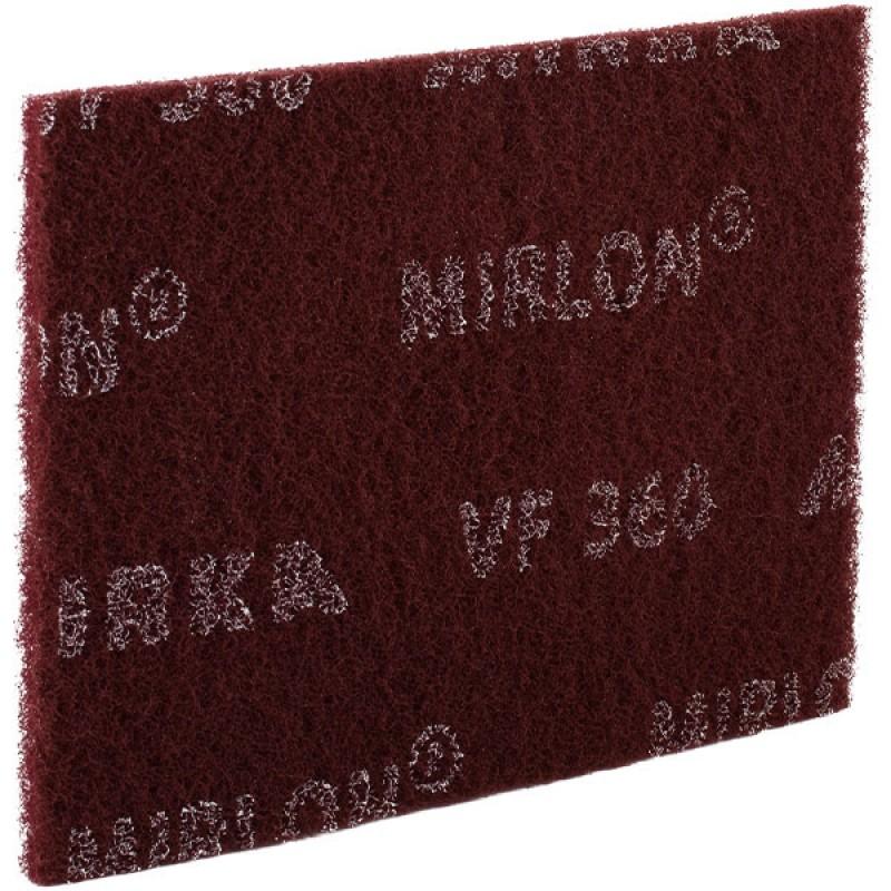 Шлифовальный войлок Mirka MIRLON 152х229х10 мм Р360 синтетический