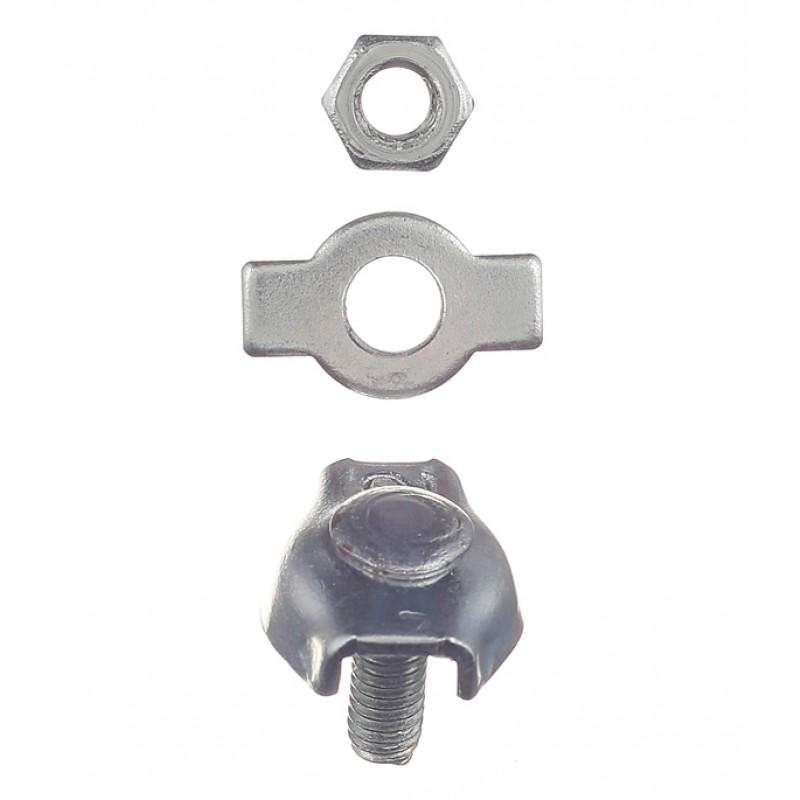 Зажим троса simplex d2 мм (2 шт.) (фото 2)