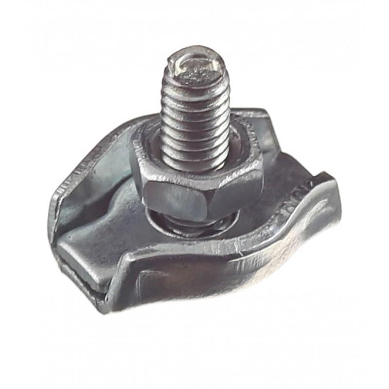 Зажим троса simplex d2 мм (2 шт.) (фото 3)
