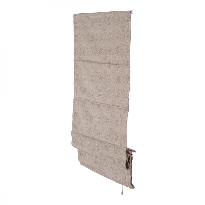 Штора римская Сафари 60х160 см бежевый