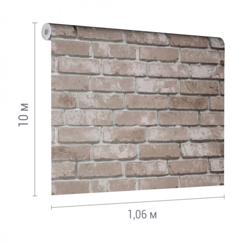 Обои компакт-винил на флизелиновой основе Victoria Stenova Rock&Wall 888852 (1,06х10 м) (фото 2)