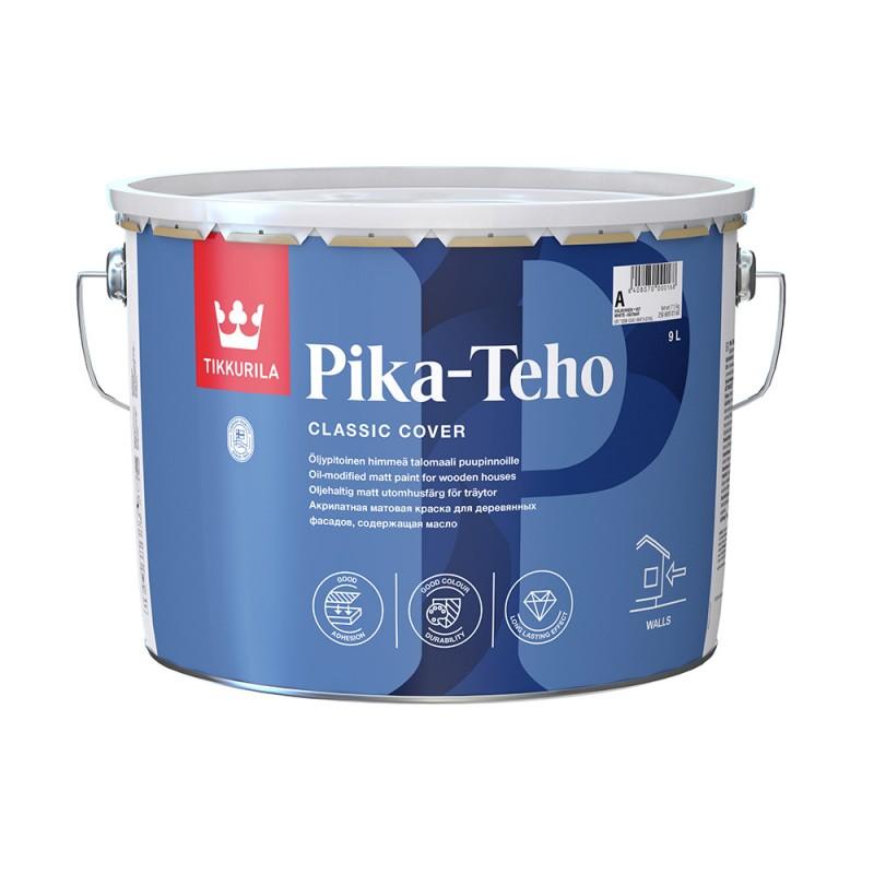 Краска водно-дисперсионная для деревянных фасадов Tikkurila Pika-Teho основа С 9 л
