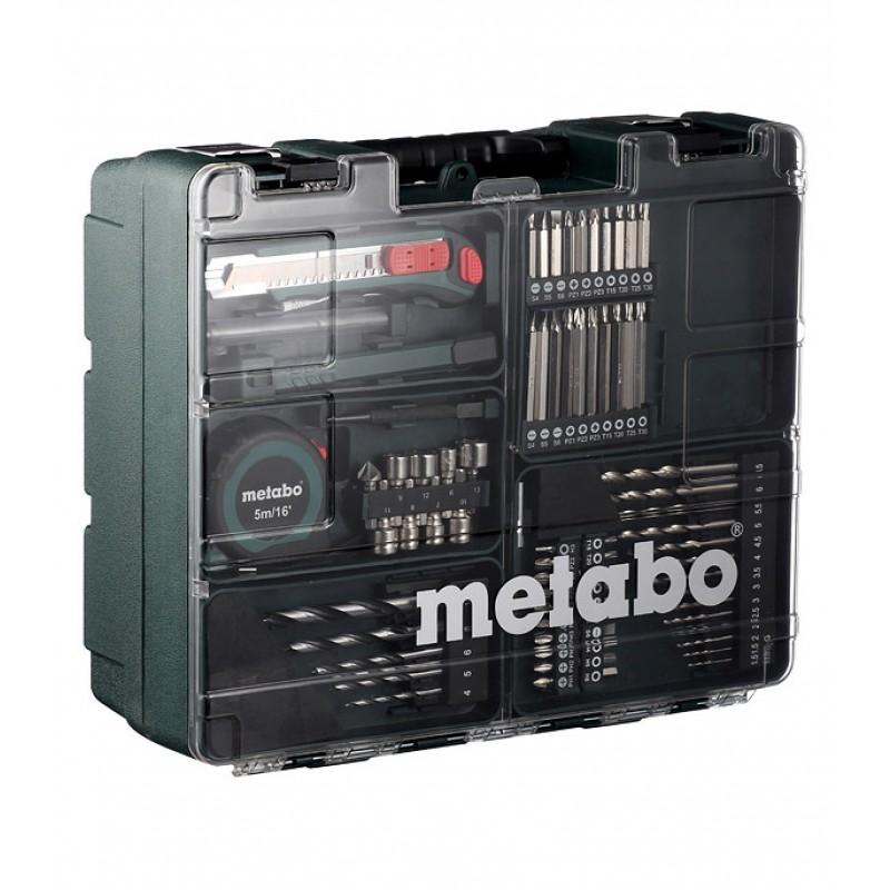 Дрель-шуруповерт аккумуляторная Metabo BS (602206880) 14,4В 2х2Ач Li-Ion с набором оснастки