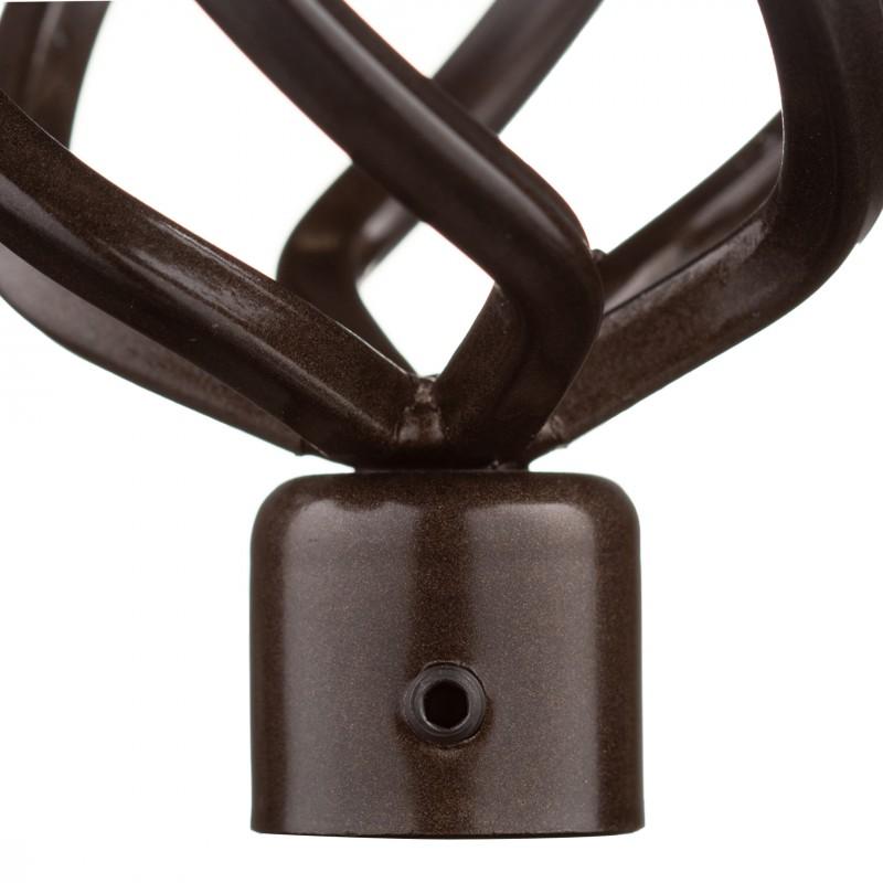 Наконечник Глобо d 16 мм шоколад 2 шт.