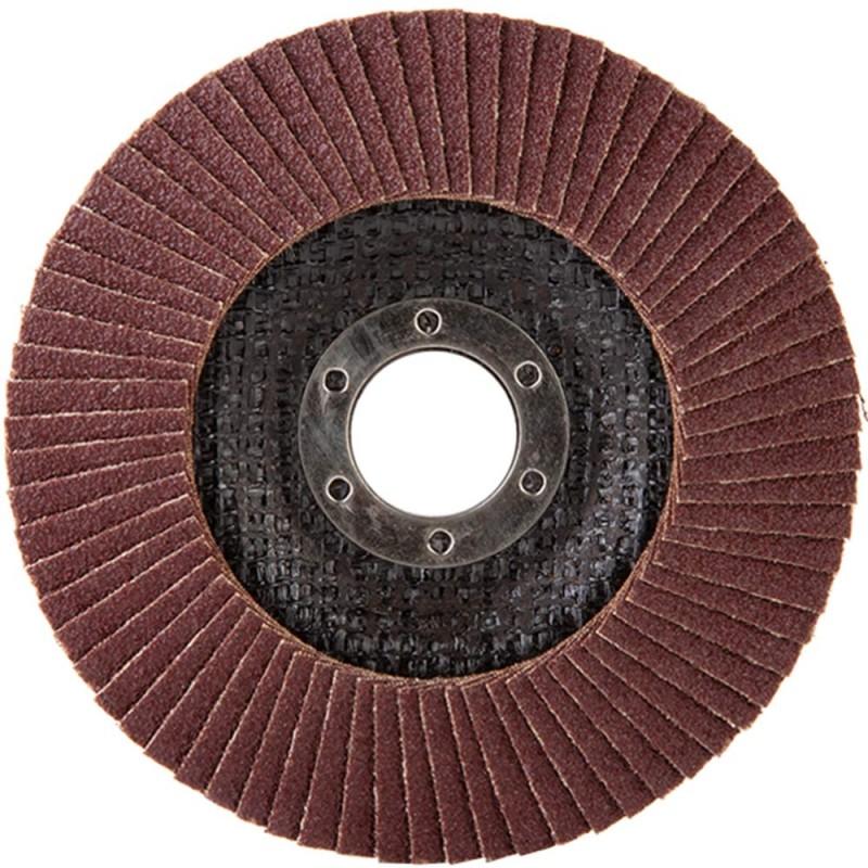 Круг лепестковый по металлу/древесине Debever (FDC 115A 80 72F) 115х22,2 мм P80