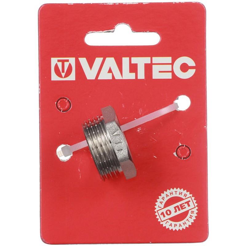 Футорка VALTEC (VTr.581.N.0504) 3/4 НР(ш) х 1/2 ВР(г) латунная