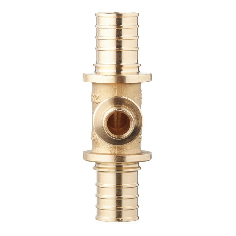 Тройник Stout (SFA-0014-251625) 25 х 16 х 25 мм латунный