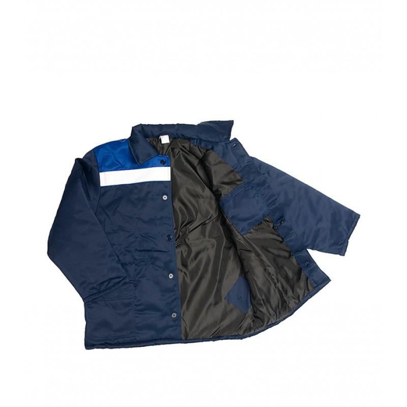 Куртка рабочая утепленная Север 52-54 рост 170-176 см цвет темно-синий/васильковый