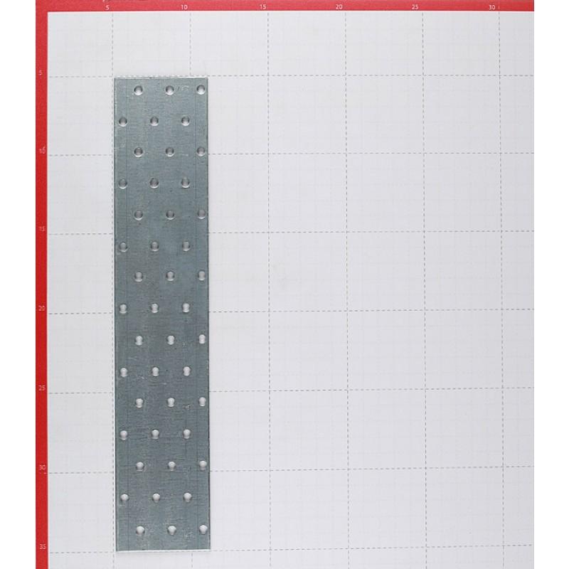 Пластина соединительная оцинкованная 300х60х2.0 мм
