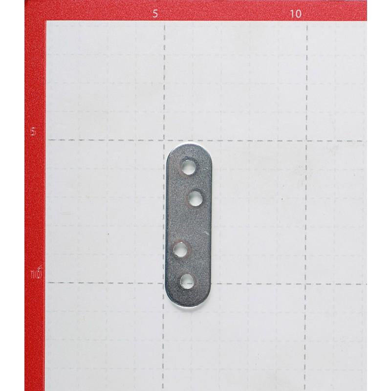 Пластина крепежная оцинкованная 60х16х1.7 мм (6 шт.) (фото 2)