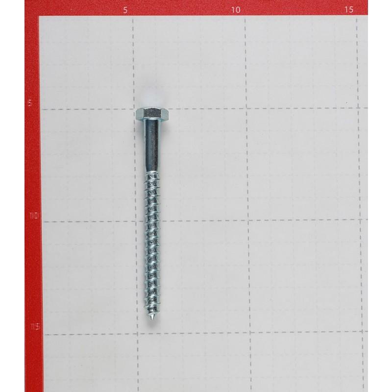 Болт сантехнический 8х90 мм DIN 571 оцинкованный (20 шт.)