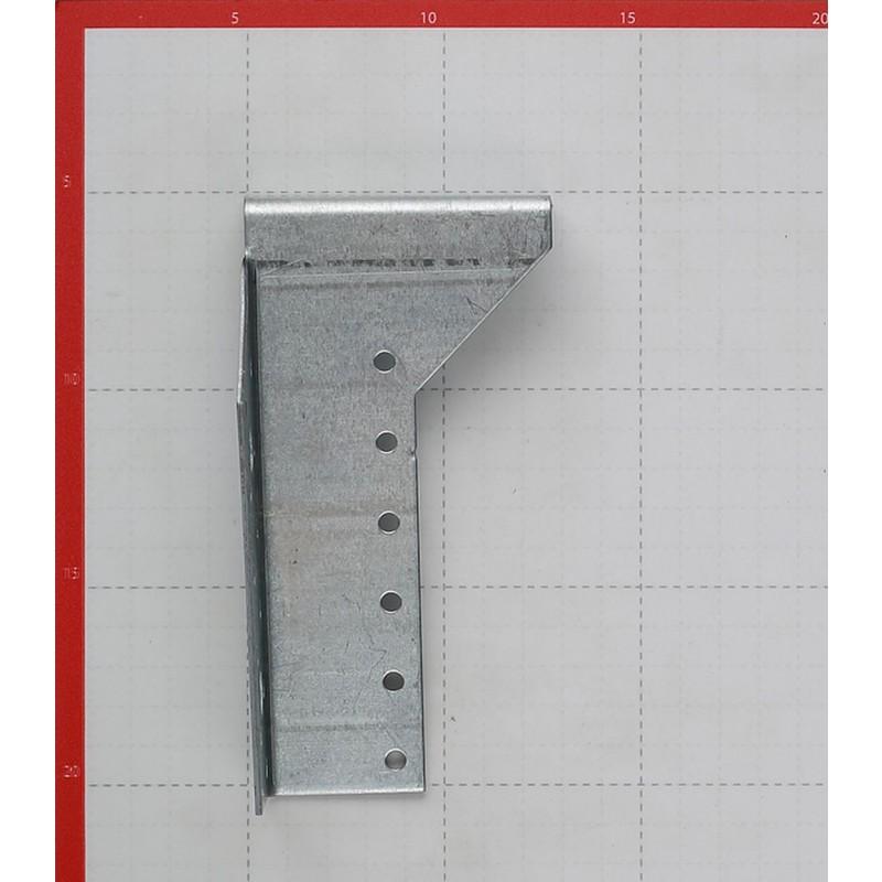 Опора балки правая оцинкованная 140х76х25х2 мм