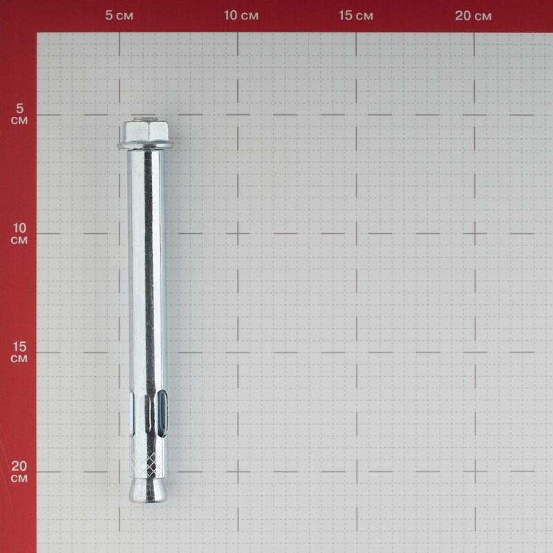 Анкерный болт Tecfi AW ZN для бетона 16х147 мм с гайкой (10 шт.) (фото 3)