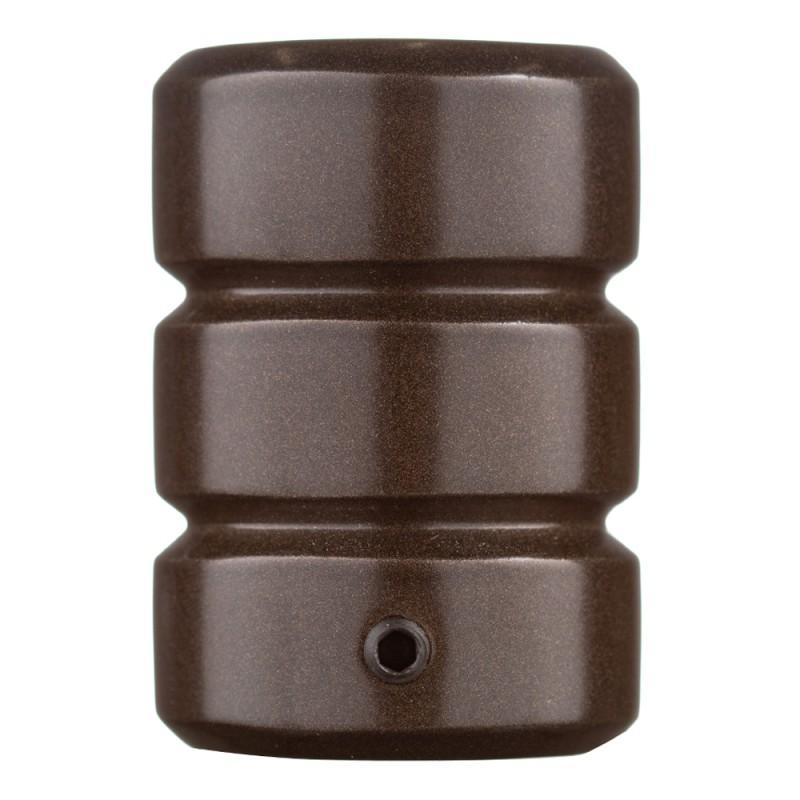Наконечник Цилиндр-2 d 20 мм шоколад 2 шт.