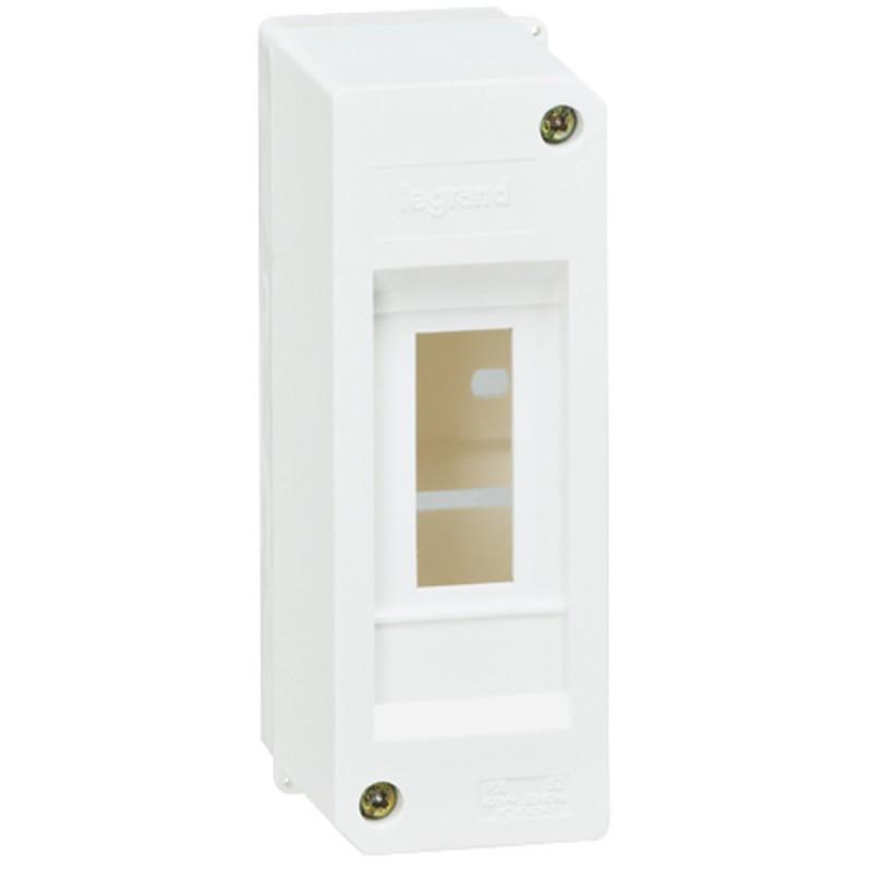 Коробка под автомат Legrand Mini S IP30 2 модуля белая