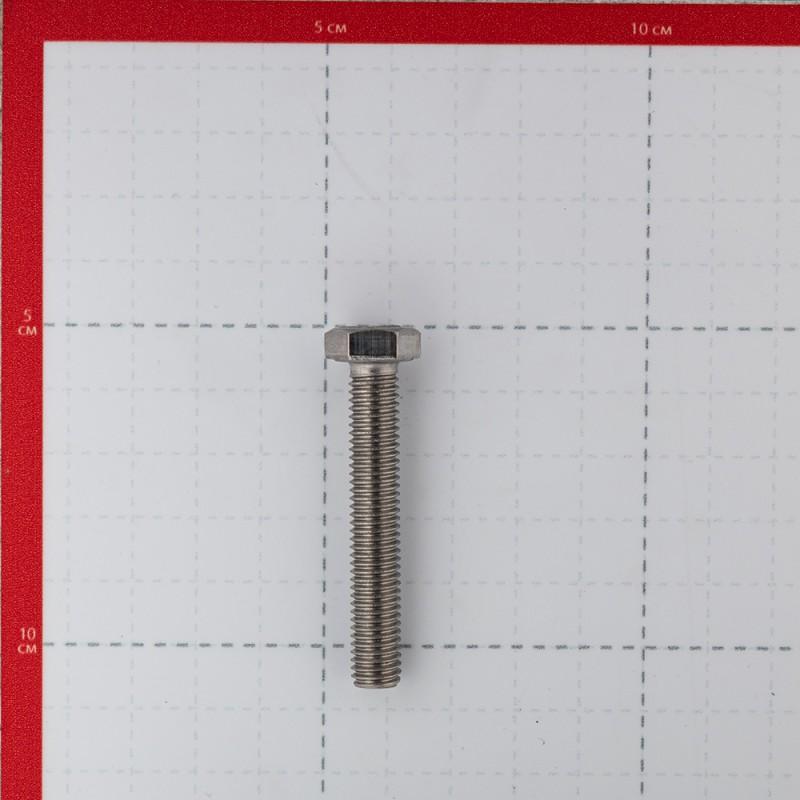 Болт нержавеющая сталь M8x50 мм DIN 933 (2 шт.) (фото 3)