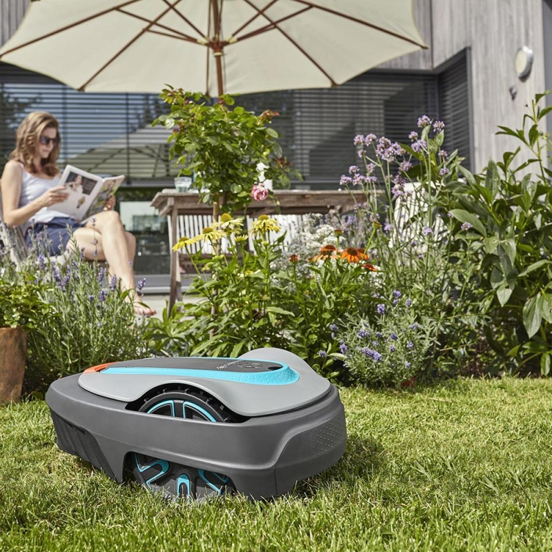 Газонокосилка-робот аккумуляторная Gardena Sileno city 500 (15002-33) (фото 6)