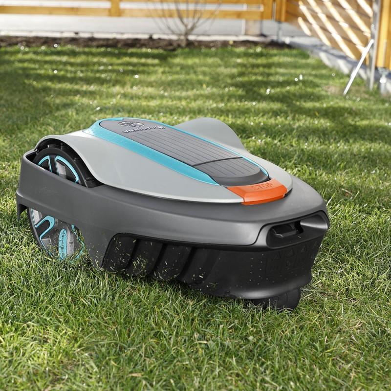Газонокосилка-робот аккумуляторная Gardena Sileno city 500 (15002-33) (фото 7)