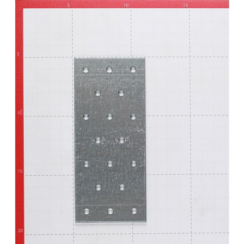 Пластина соединительная оцинкованная 140х60х1.8 мм