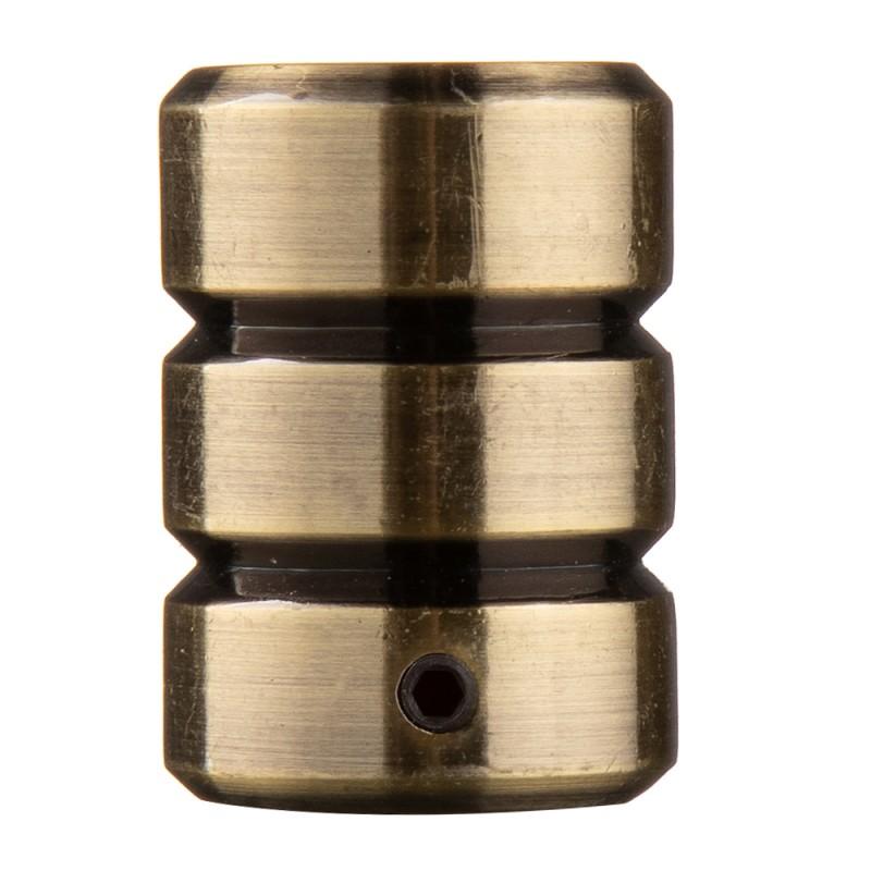 Наконечник Цилиндр-2 d 20 мм бронза 2 шт.