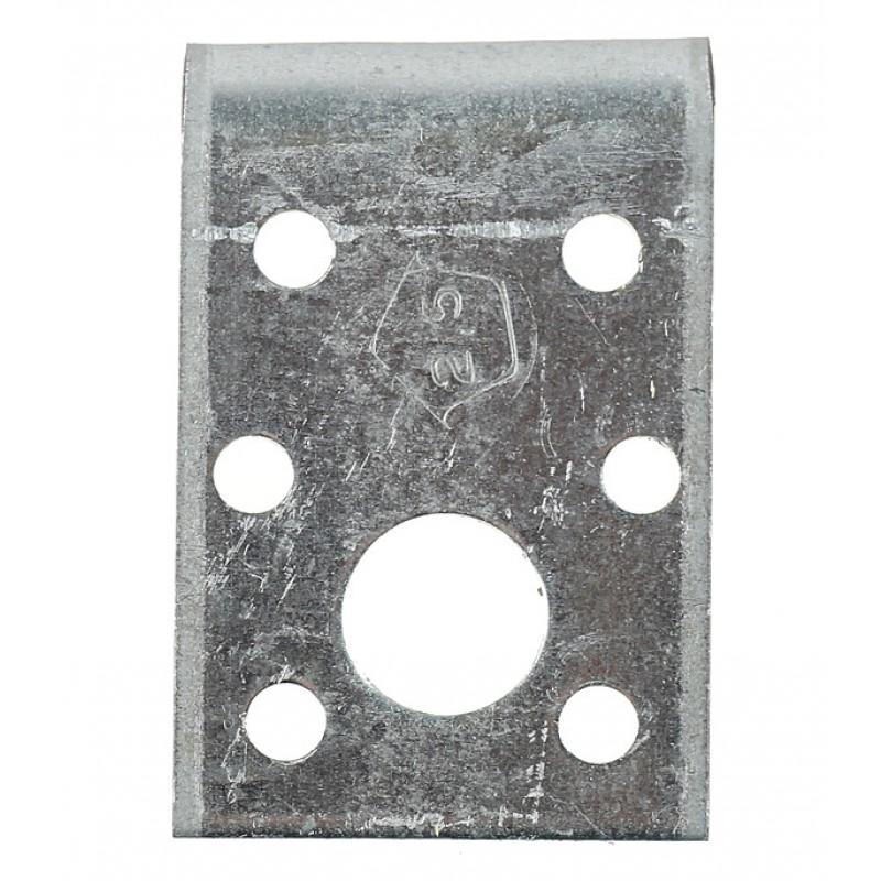 Уголок крепежный оцинкованный 50х50х35х2.5 мм